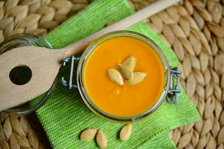 Pumpkin, Apple and Sage Soup