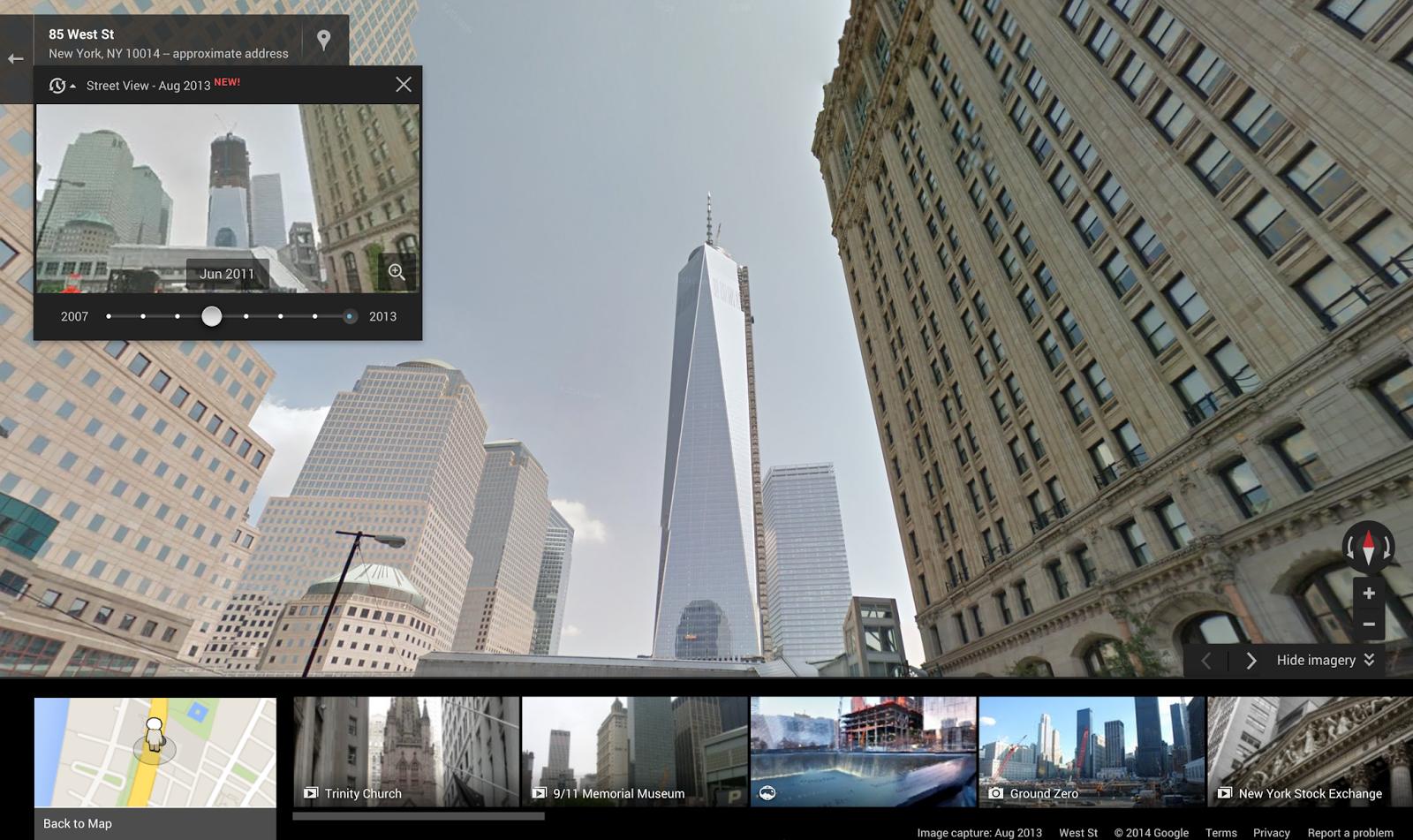 Construzione del grattacielo Freedom Tower, New York