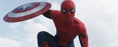 trailer di captain america civil war con spider man