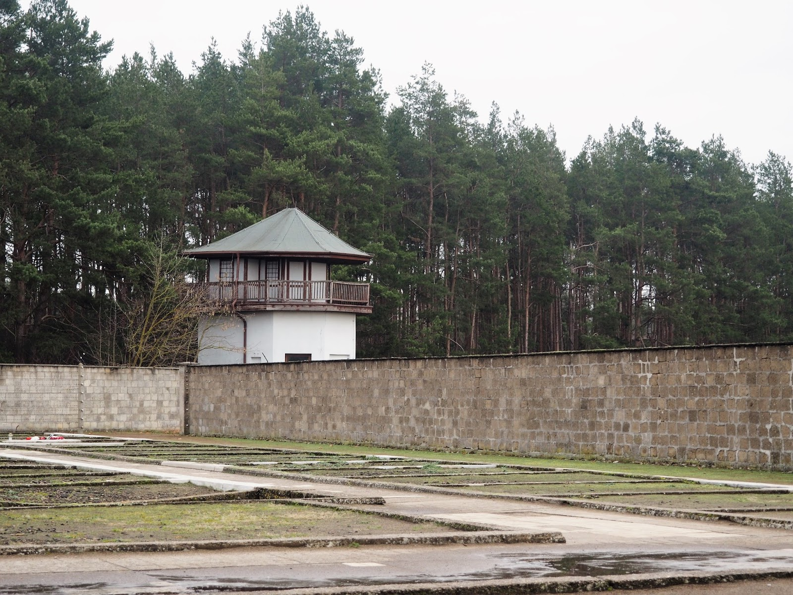 Sachsenhausen Concentration Camp guard tower