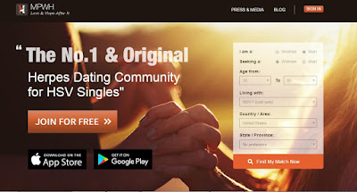 #2 herpes dating site for North Carolina people with herpes