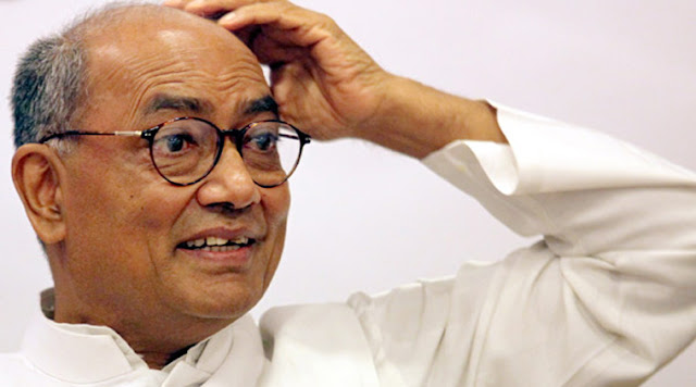 Digvijay Singh: My Speech Will Cut Congress Votes Watch Video