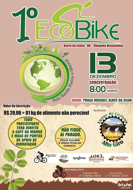 1º Eco Bike em Barra da Estiva