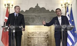 Τσίπρας - Erdogan συμφώνησαν ότι... διαφωνούν σχεδόν σε όλα