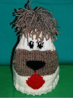 fes copii calduros lana model catel handmade tricotat