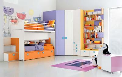 46 Desain Kamar Tidur Tingkat Anti Ngebosenin