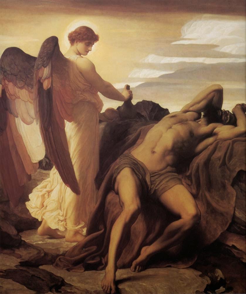 Elias no Deserto - Lord Frederick, o mais famoso artista britânico do século XlX