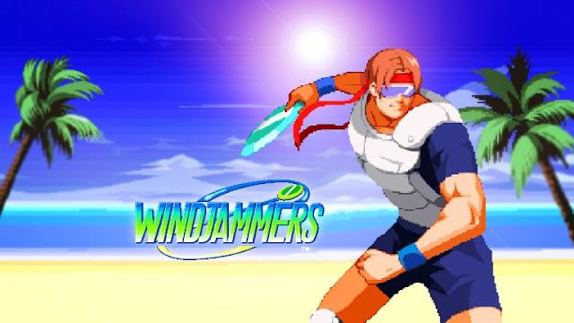 الإعلان عن نسخ للمتاجر من لعبة Windjammers