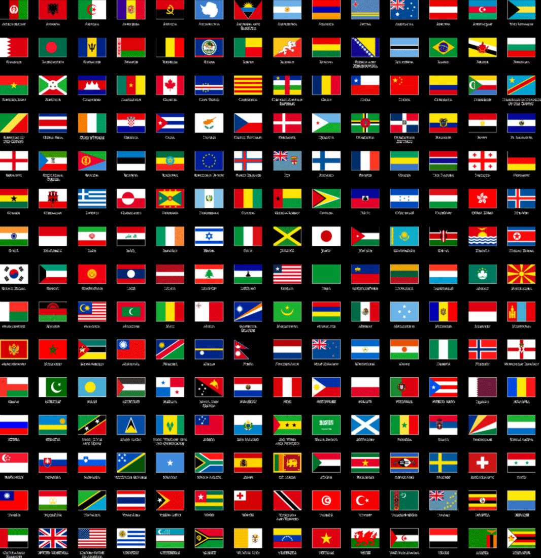 Flags Of The World Hd Wallpaper Wallpapers Turret