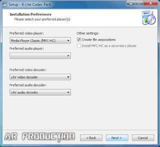 Tahap 2 Instalasi K-Lite Codec Pack Beserta Gambar