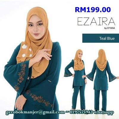 BLOUSE MUSLIMAH EZAIRA BY D'YANA