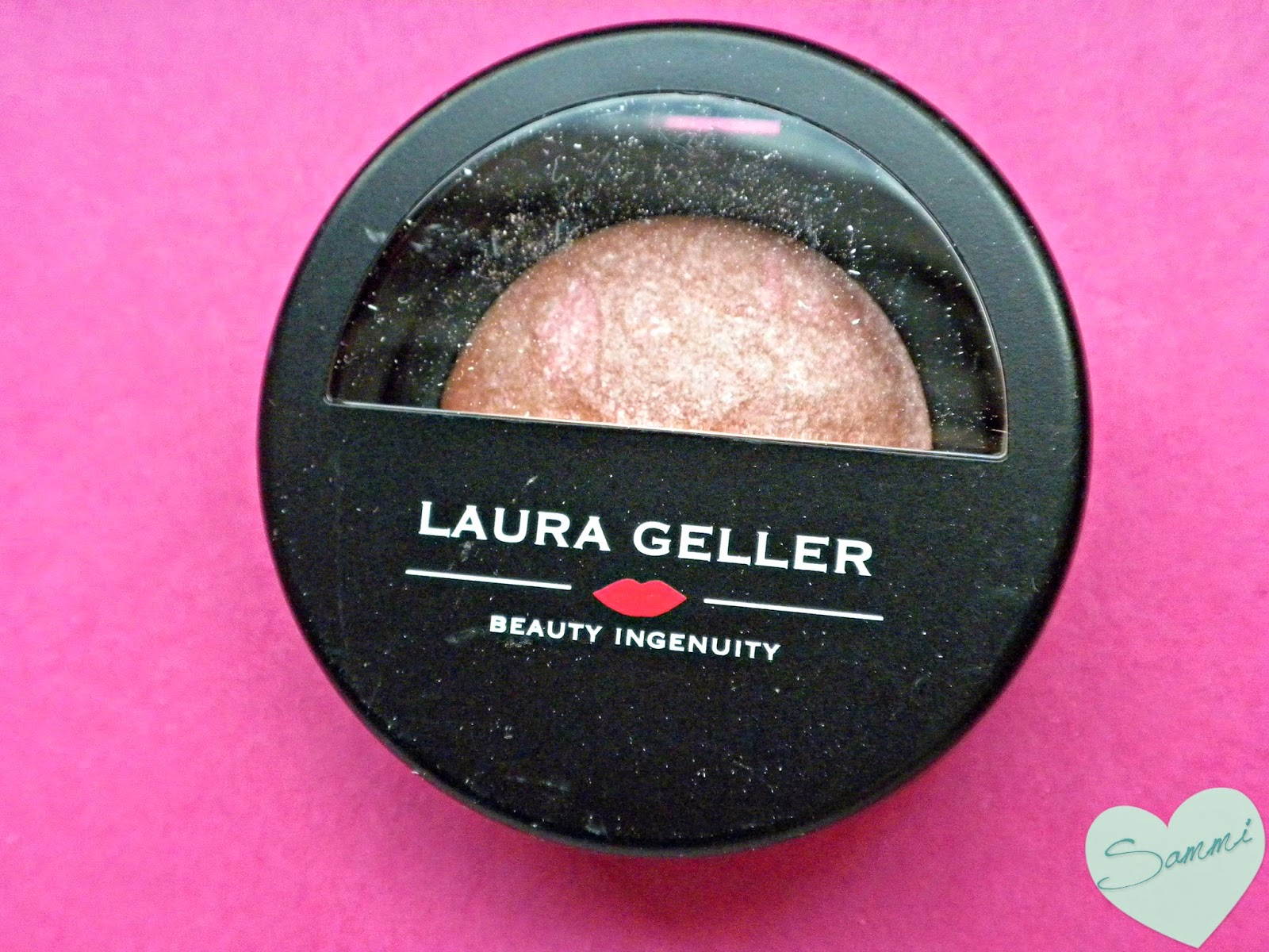 LAURA GELLER BEAUTY Baked Blush-n-Brighten in Pink Grapefruit