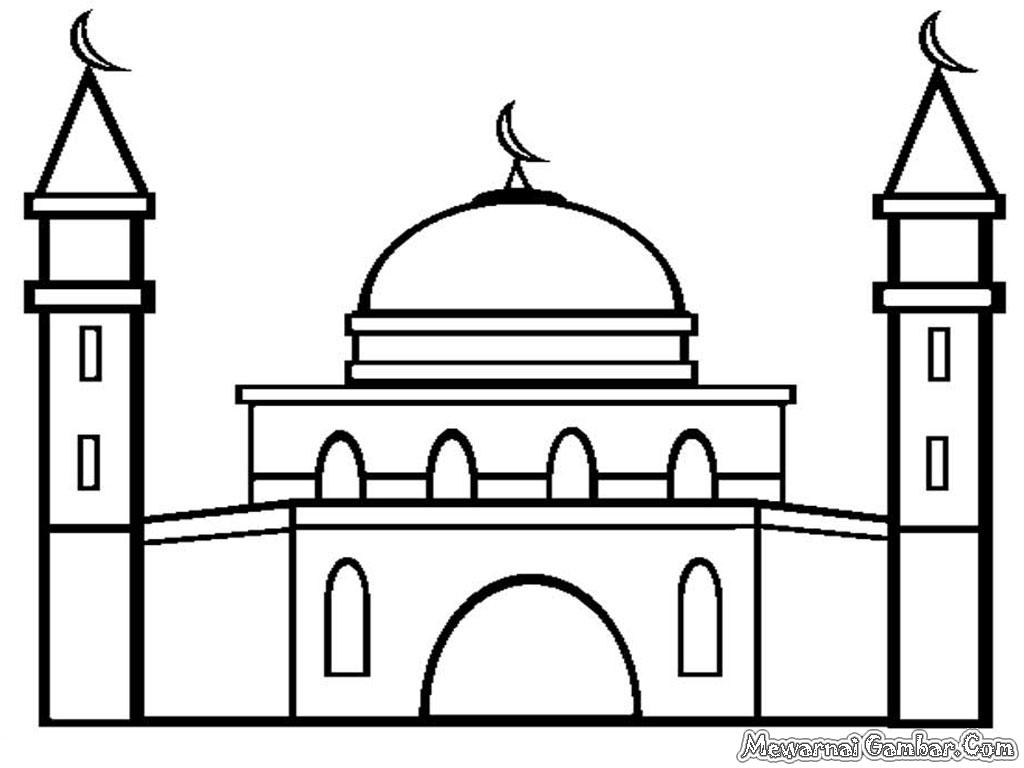 Gambar  Tempat Ibadah Di Indonesia Dan  Keterangannya