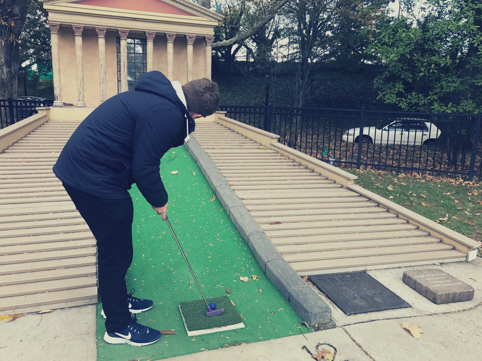 Philly mini golf Franklin Square