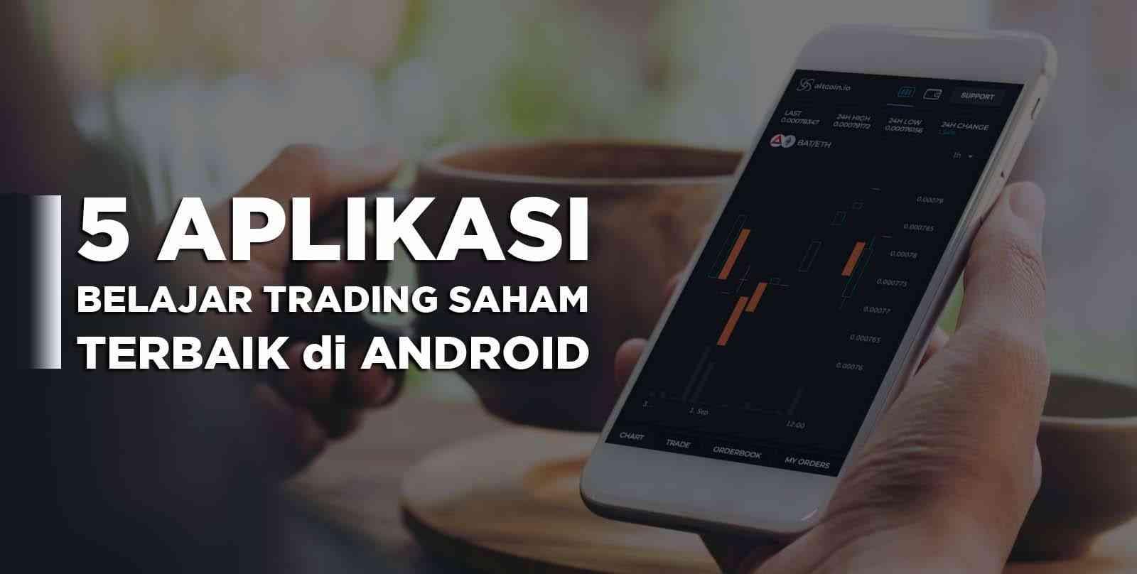 aplikasi simulasi trading saham terbaik di Android untuk Pemula
