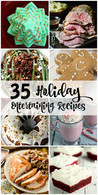 Whether you are rounding out that Thanksgiving dinner menu or planning ahead for Christmas, you are going to love this collection of 35 Holiday Entertaining Recipes.