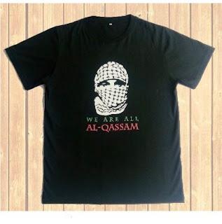 Jual Kaos Palestina Desaim Al Qassam