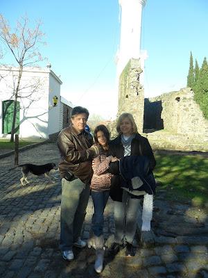 Colonia del Sacramento; Uruguai; turismo América Latina; ruínas convento de San Francisco