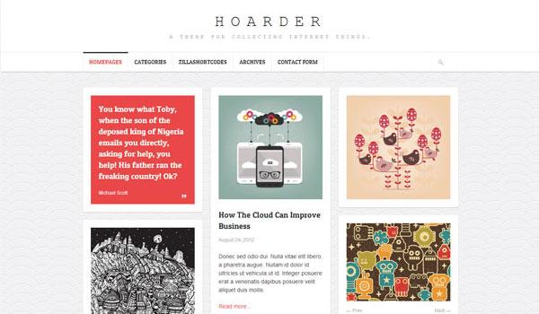 Hoarder Magazine Theme