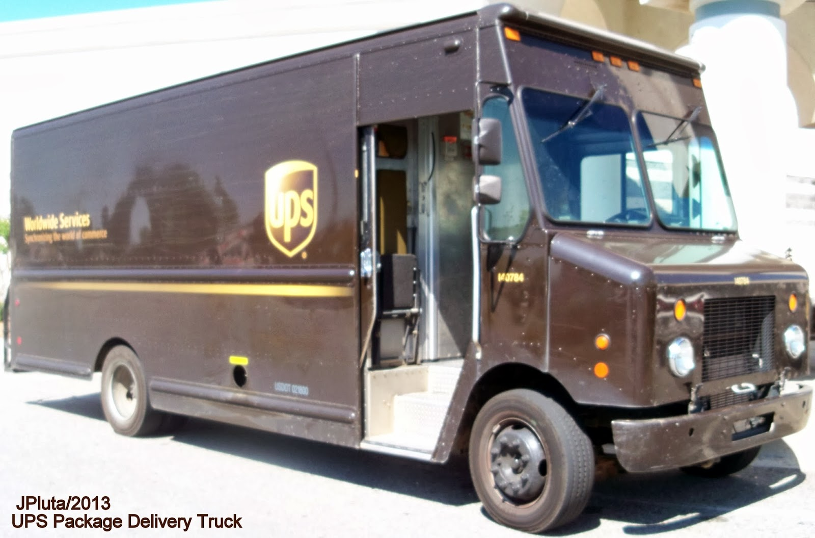 Food Delivery Brown Trucks