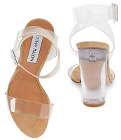 Steve Madden Clear Sandals