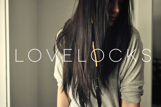 lovelocks, trenzas, lana, pelo, cabello, estética, peluquería