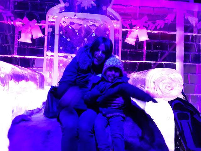 Féerie des glaces Metz week end Noel