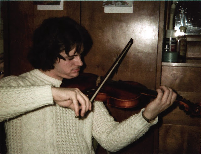 Pierre learned a grade 6 on all instruments for his degree ; violin is an ear challenge