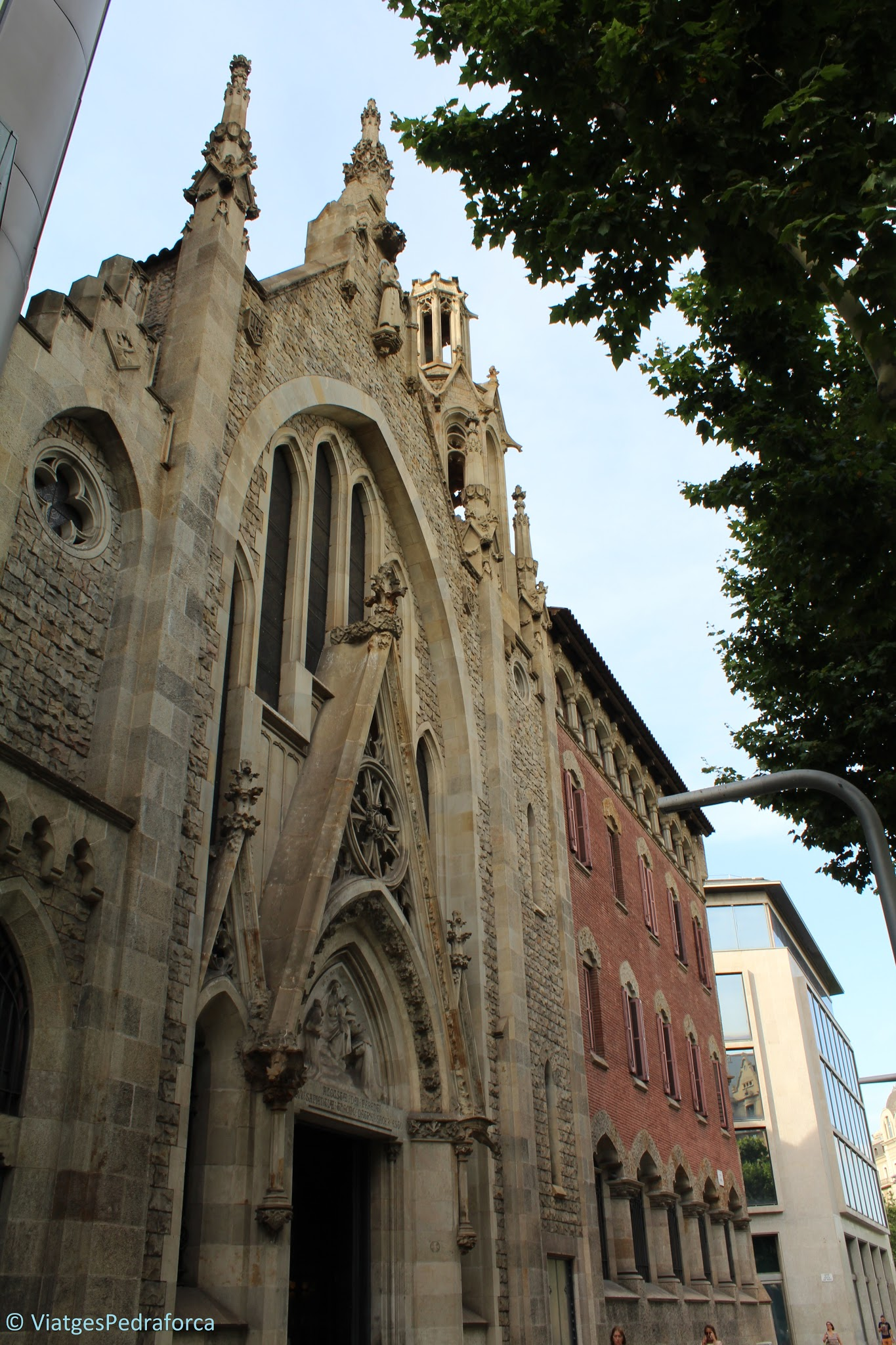 Ruta modernista per Barcelona, Catalunya