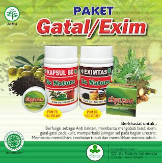 Image Harga Terbaru Obat Herbal De Nature (Penyakit gatal/ Exim)