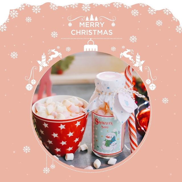 Snowman soup, kit para regalar botella de chocolate caliente