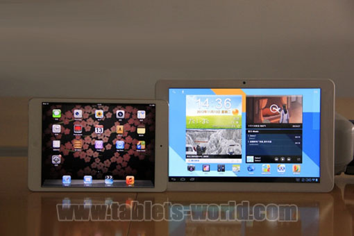 tablets-world com official blog: Samsung Quadcore Ramos W30 vs iPad mini