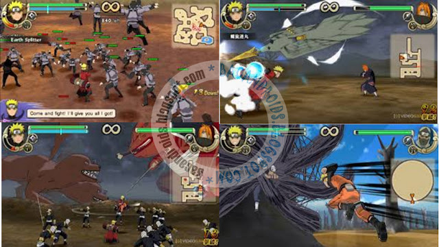 Download ROM Game PSP Naruto Shippuden Ultimate Ninja Impact PPSSPP ISO