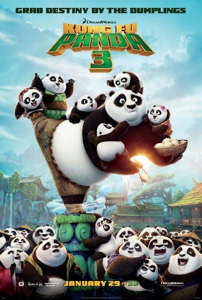 Poster Of Kung Fu Panda 3 (2016) 720p Hindi WEB-DL Dual Audio Full Movie