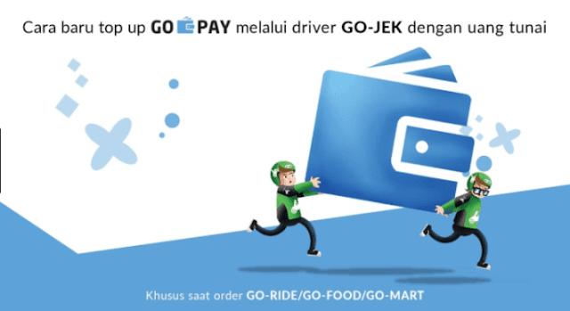 Total Uang Tip yang Diterima Driver Go-Jek dari Go-Pay Capai Rp 66,2 M