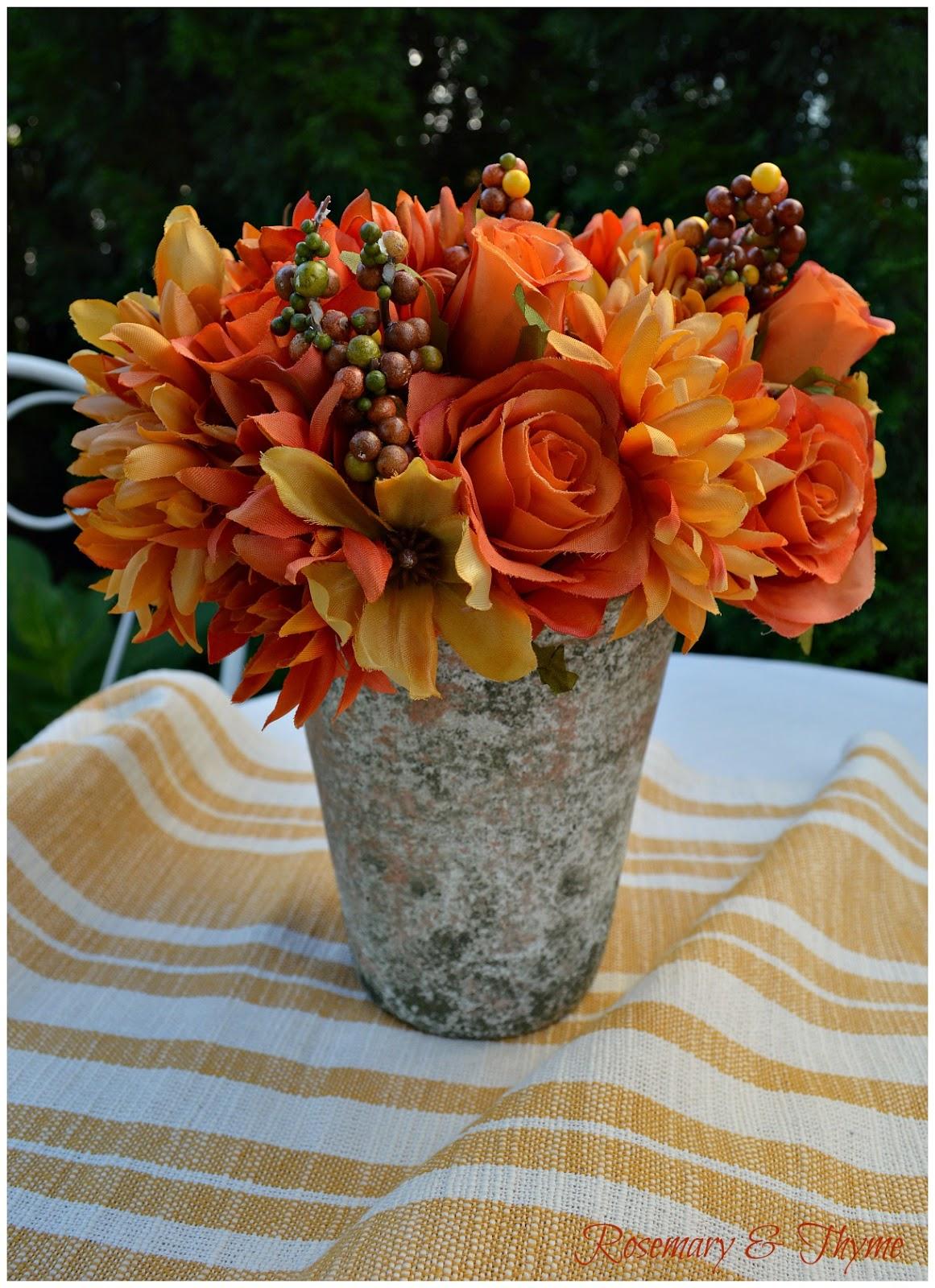 Easy & Budget Friendly Autumn Floral Arrangements