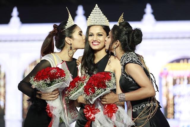 Winners of Miss South India 2019    Nikita Thomas Won the title