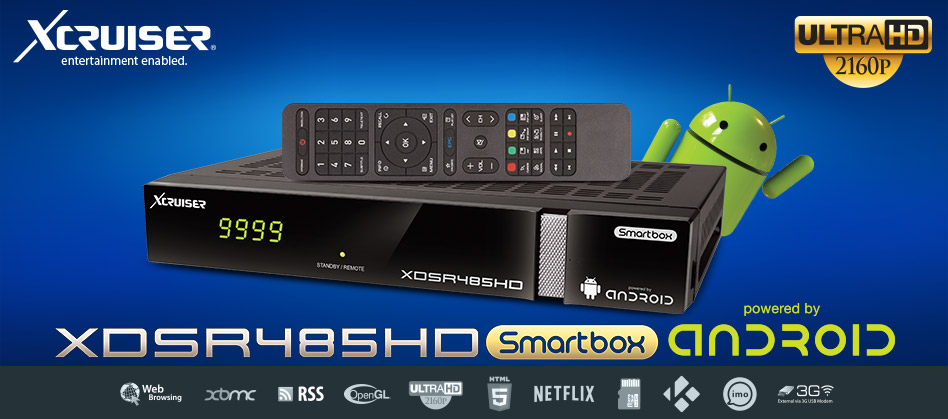 XCRUSIER XDSR485HD ANDROID: Full and final review decoder ...