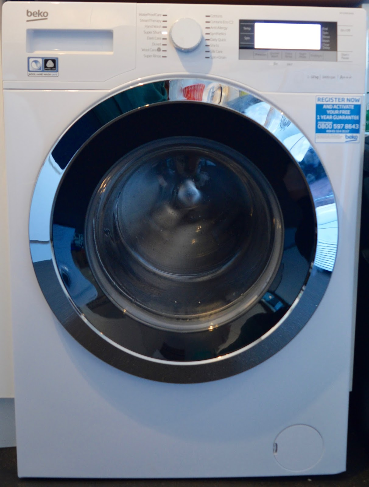 Testing The 28 Minute Cycle Function On A New Beko Washing