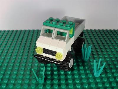 MOC LEGO Unimog 4 wide