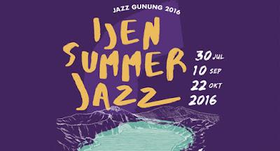 Banyuwangi Ijen Summer Jazz 2016.