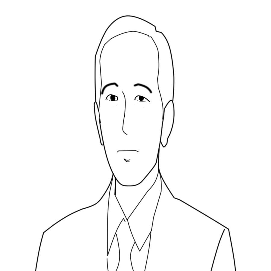 Sketsa Gambar Presiden Jokowi