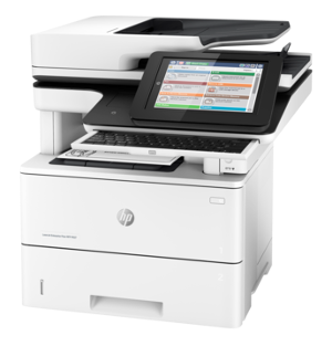 in addition to scan both sides of the page instantly HP LaserJet M527z Driver Download