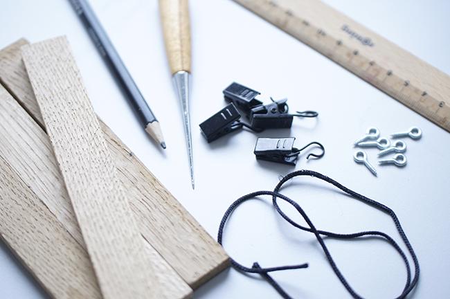 Ynas Design Blog | DIY Holzrahmen | Materialliste