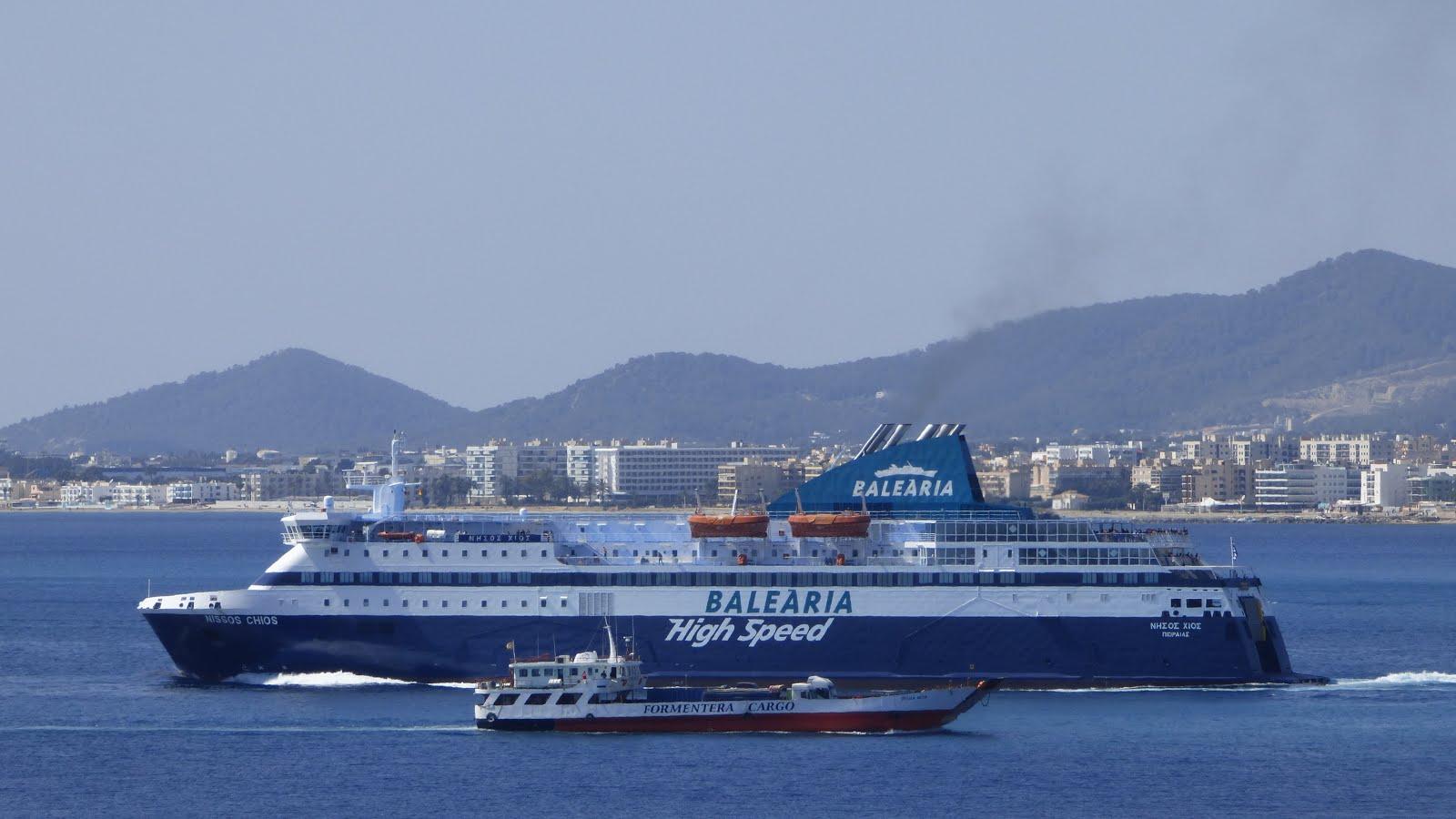 Ferrybalear la naviera bale ria sigue rastreando puertos for Oficinas balearia