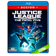 La Liga de la Justicia vs Los Cinco Fatales (2019) BRRip 720p Audio Dual Latino-Ingles