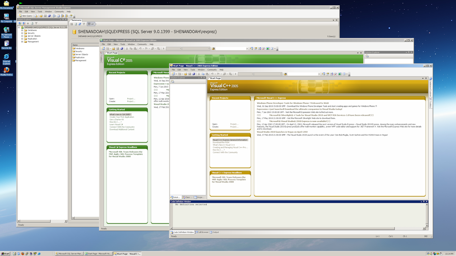 Open Correlate: Reviving Windows 2000, IE 6 SP1 and Visual