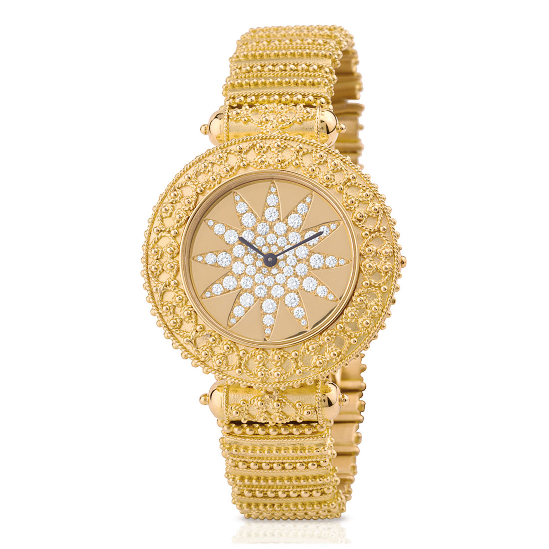 Matthia's & Claire Etrusca Gold Watch