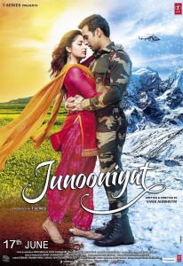 Junooniyat (2016) Hindi Movie DVDRip 350MB