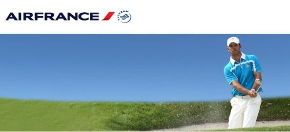 Parcours de Golf avec Air France